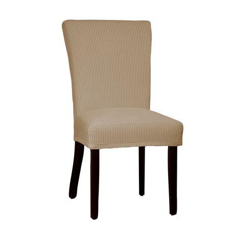 Housse extensible montgomery ii chaise de salle manger for Housse chaise salle a manger