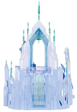Mattel disney la reine des neiges coffret de jeu le for Chateau de glace reine des neiges