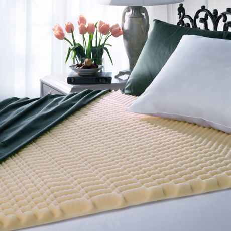 coussin de matelas en mousse basic comfort. Black Bedroom Furniture Sets. Home Design Ideas
