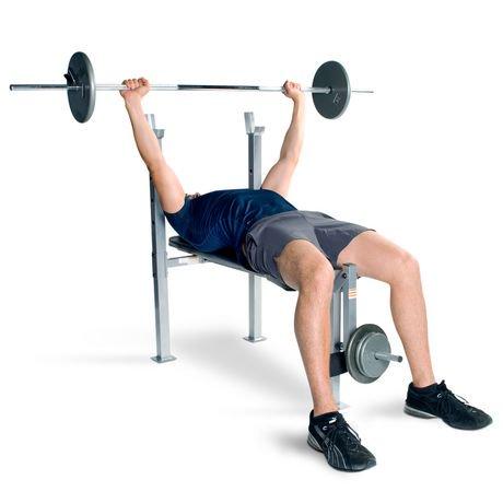 Cap strength mid width weight bench Cap strength weight bench