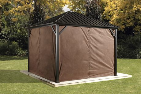 Sojag Dakota Gazebo Privacy Curtains