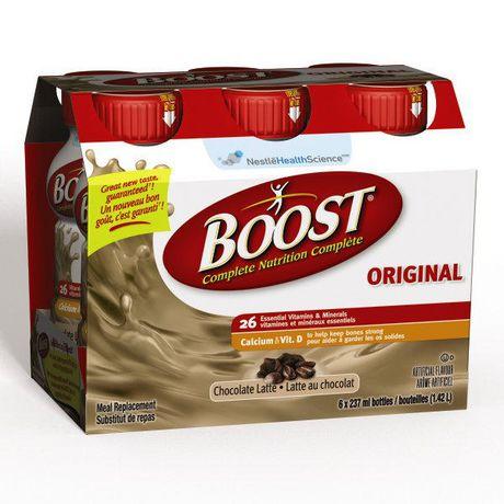 boost substitut de repas original latte au chocolat. Black Bedroom Furniture Sets. Home Design Ideas