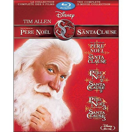 film the santa clause collection compl te des 3 films. Black Bedroom Furniture Sets. Home Design Ideas