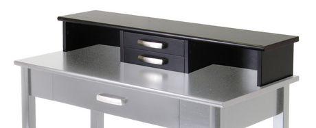 92271 bureau avec huche. Black Bedroom Furniture Sets. Home Design Ideas