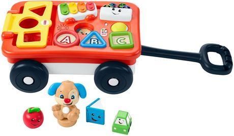 Fisher-Price Laugh & Learn Pull & Play Learning Wagon Multi