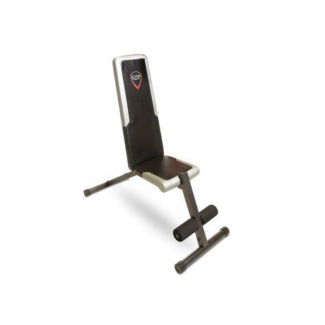 banc cap barbell plat inclin d clin. Black Bedroom Furniture Sets. Home Design Ideas