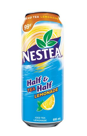 Nestea Half Ice Tea Half Lemonade | Walmart.ca Nestea Can