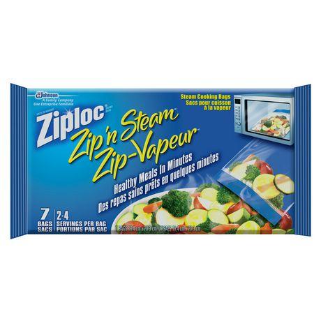 ziploc 174 zip n steam large walmart ca