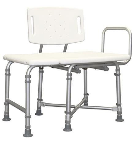 banc de transfert bariatrique avec dossier 1med capacit de 700 lbs walmart canada. Black Bedroom Furniture Sets. Home Design Ideas