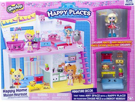 Coffret de jeu maison heureuse happy places de shopkins for Concevez et construisez votre propre maison en ligne