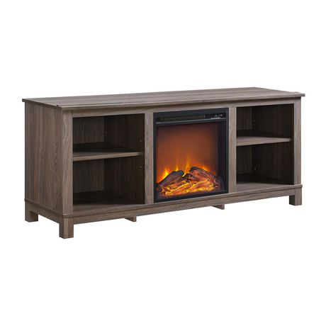 Dorel Edgewood Tv Console Electric Fireplace