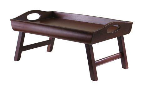 Winsome Sedona Bed Lap Tray Curved Side 94725 Walmart Ca