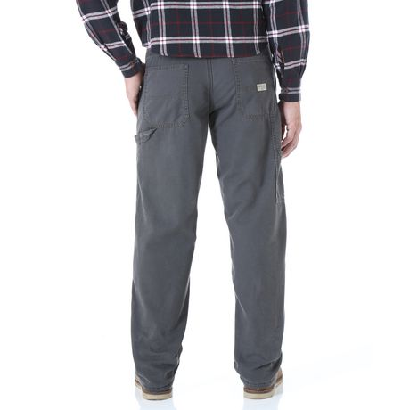 Mens Fleece Lined Carpenter Jeans