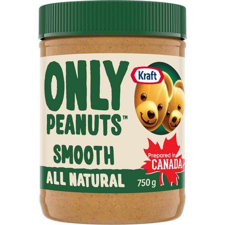 Kraft All Natural Peanut Butter   Walmart.ca