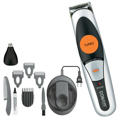 conair cordless rechargeable beard mustache trimmer. Black Bedroom Furniture Sets. Home Design Ideas