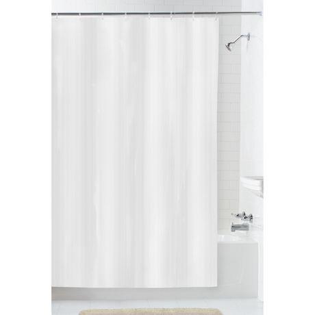 doublure de rideau de douche imperm able de mainstays. Black Bedroom Furniture Sets. Home Design Ideas