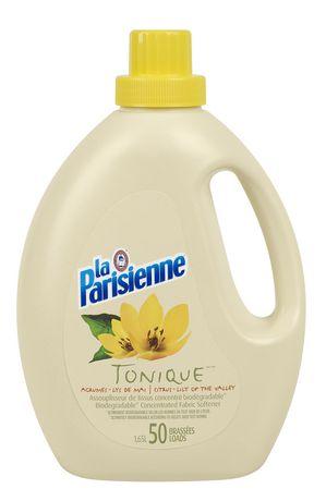 La parisienne assouplisseur liquide conc tonique for Assouplisseur maison