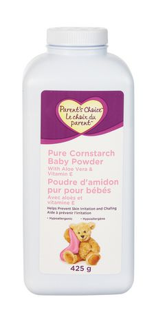 Parent S Choice Pure Cornstarch Baby Powder With Aloe And