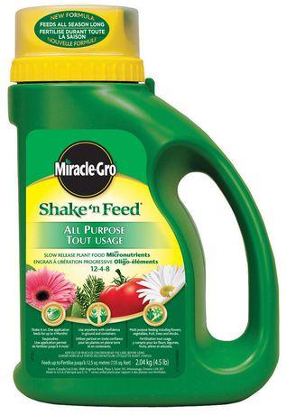 Miracle Gro Shake 39 N Feed All Purpose Plant Food 12 4 8