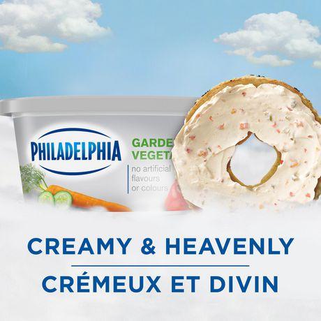 Philadelphia Soft Garden Vegetables Light Cream Cheese