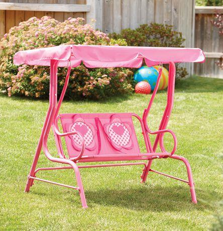Your zone balancelle pour enfants filles - Balancelle jardin enfant ...