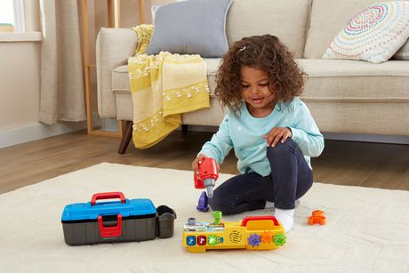 vtech drill learn toolbox interactive learning toy english. Black Bedroom Furniture Sets. Home Design Ideas