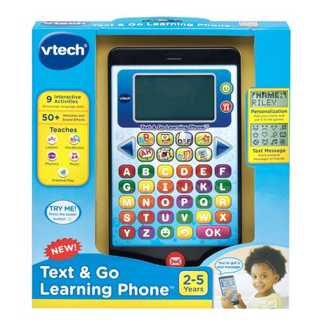 vtech t l phone ducatif kid a b c version anglaise walmart canada. Black Bedroom Furniture Sets. Home Design Ideas