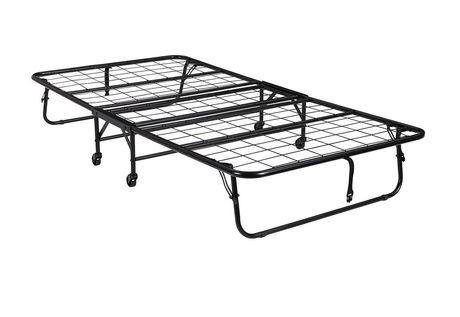 lit d 39 appoint pliant avec matelas de dhp. Black Bedroom Furniture Sets. Home Design Ideas