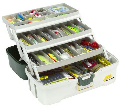Plano molding 620306 three tray tackle box for Walmart fishing tackle