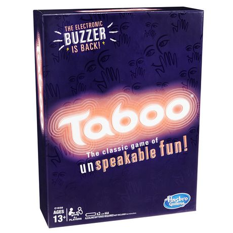 Taboo Classic Edition Game White Aaa