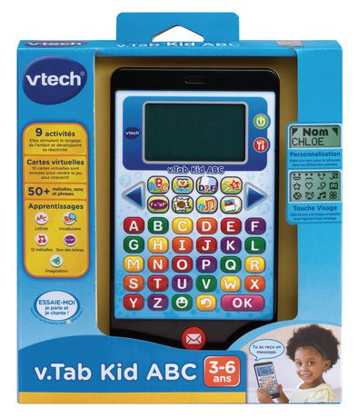 vtech t l phone ducatif kid a b c version fran aise walmart canada. Black Bedroom Furniture Sets. Home Design Ideas