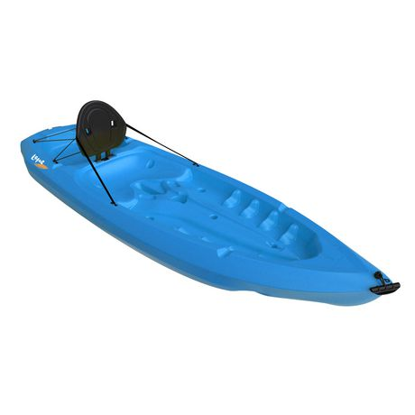 Lifetime lotus kayak blue at for Fishing kayak walmart