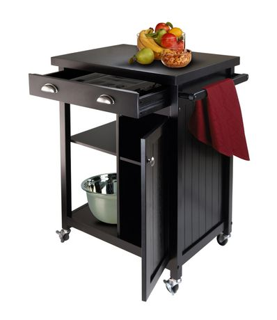 20727 Timber Kitchen Cart