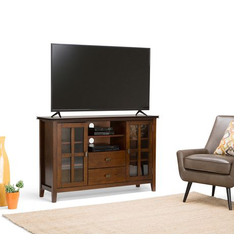 grand meuble t l stratford de wyndenhall. Black Bedroom Furniture Sets. Home Design Ideas