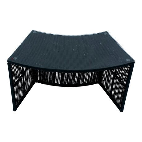 Table de bar ronde mobilier entourant de canadian spa for Table exterieur walmart