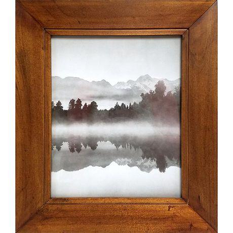 hometrends walnut finish 8x10 casual frame. Black Bedroom Furniture Sets. Home Design Ideas
