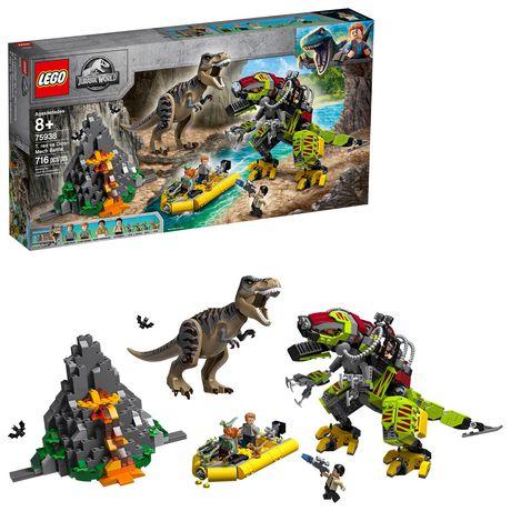 Lego Jurassic World T. Rex Vs Dino-Mech Battle 75938 (716 Piece)