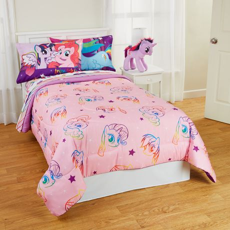 my little pony pony fied twin full size comforter. Black Bedroom Furniture Sets. Home Design Ideas