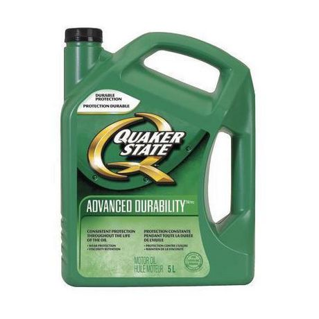 Quaker state advanced durability 5w 30 5l for Quaker state advanced durability motor oil review