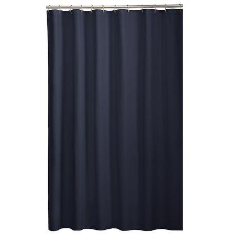 rideau de douche en tissu ou doublure. Black Bedroom Furniture Sets. Home Design Ideas