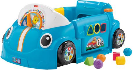 Fisher-Price Laugh & Learn Crawl Around Car - English Edition Multi