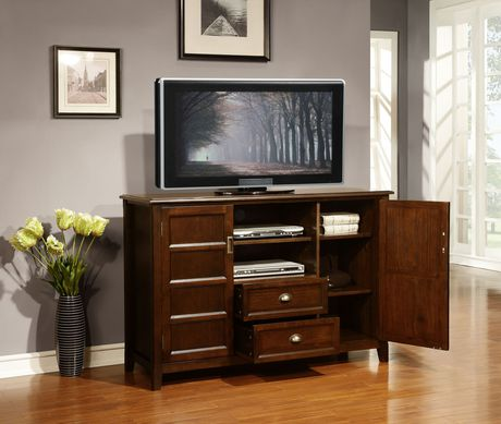 Portland 54 Inches Wide X 36 Inches High Tall TV Stand In
