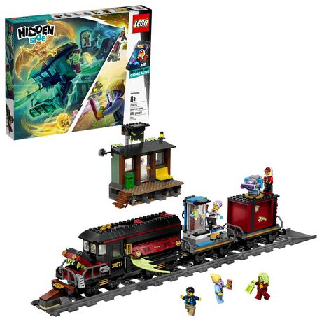 Lego Hidden Side Ghost Train Express 70424 Building Kit, Train Toy For 8+ Year Old Boys And Girls, Interactive Augment