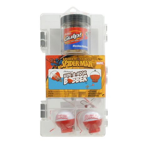 Shakespeare marvel 39 s spiderman fishing kit for Fishing kit walmart