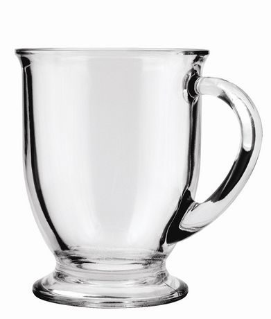 Anchor Hocking Glass Caf Mug