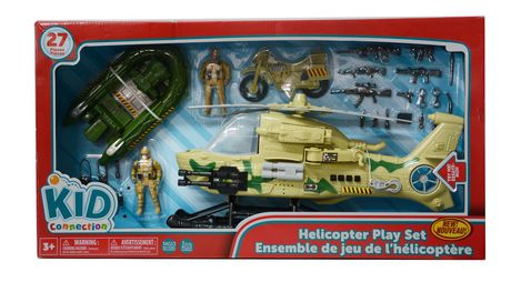 Kid Connection Helicopter Playset Walmart Ca