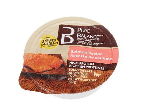 nourriture humide pour chats pure balance recette de saumon walmart canada. Black Bedroom Furniture Sets. Home Design Ideas