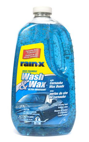 rain x wash wax. Black Bedroom Furniture Sets. Home Design Ideas