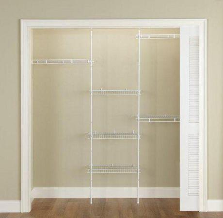 rubbermaid complete closet kit 1