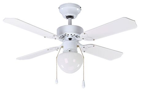 36 Quot Ceiling Fan With Globe Suited For Small Spaces